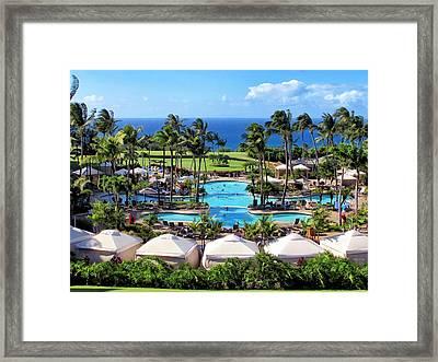 Ritz Carlton 17 Framed Print by Dawn Eshelman