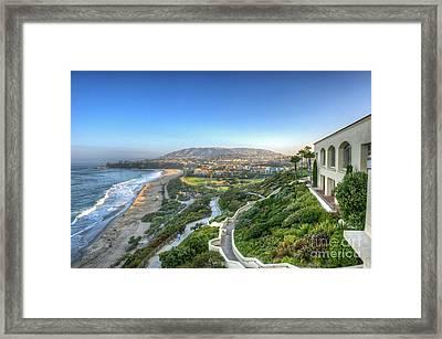 Ritz-carlton Laguna Niguel Ocean View Framed Print