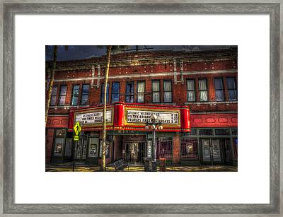 Ritz Ybor Theater Framed Print by Marvin Spates