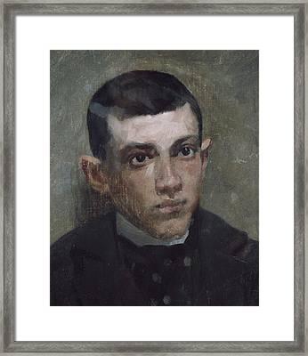 Riu I Doria, Ramon 1874-1907. Portrait Framed Print