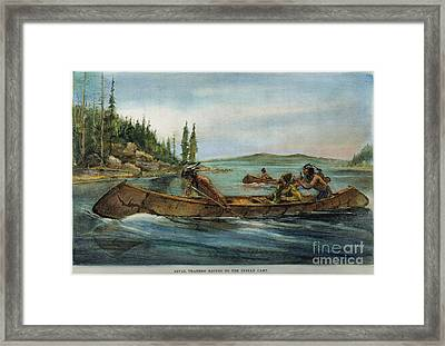 Rival Fur Traders  Framed Print by Granger