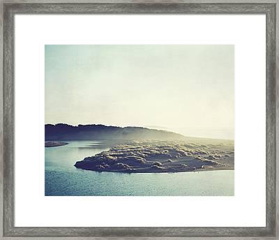 River Ans Sea Framed Print by Lupen  Grainne