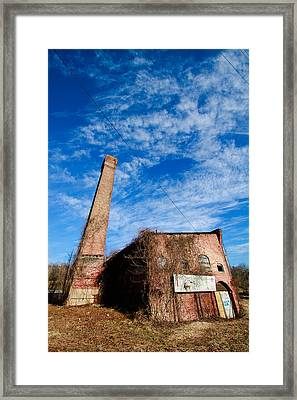 River Arts District Warehouse Tall Framed Print