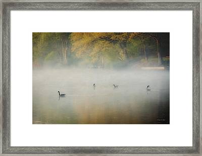 River At Sunrise Framed Print by Everet Regal
