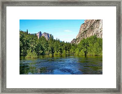 Yosemite National Park Framed Print by Menachem Ganon