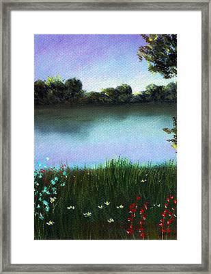 River Bank Framed Print by Anastasiya Malakhova