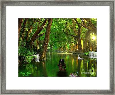 River Beauty Framed Print by Michael Rucker