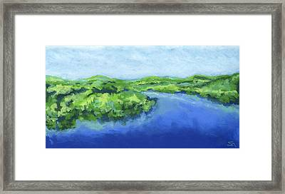 River Bend Framed Print by Stephen Anderson
