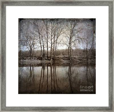 River Framed Print by Bernard Jaubert