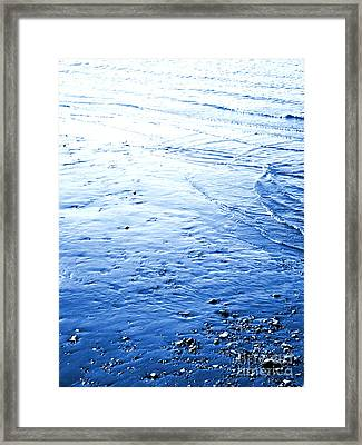 Framed Print featuring the photograph River Blue by Robyn King