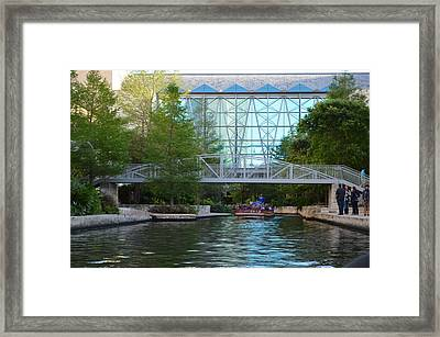 River Boating  Framed Print by Shawn Marlow