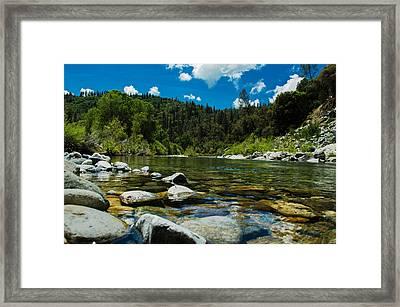 River Bottom Framed Print