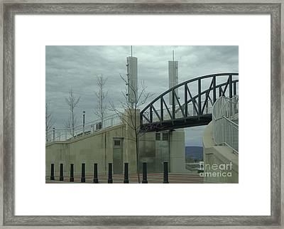 Framed Print featuring the photograph River Common Entry by Christina Verdgeline
