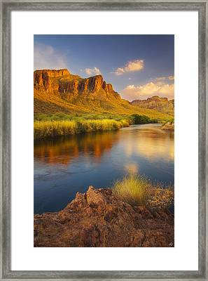 River Days Framed Print by Peter Coskun