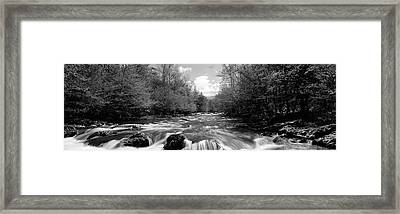 River Flowing Through Rocks Framed Print by Panoramic Images