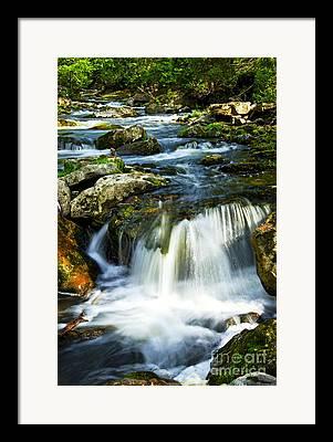 Natural River Framed Prints