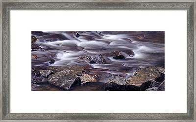River Flows 2 Framed Print by Mike McGlothlen
