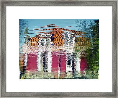 River House Framed Print