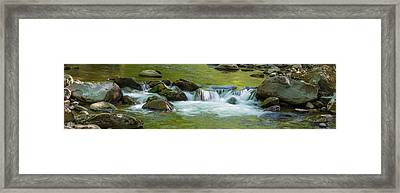 River In Great Smoky Mountains National Framed Print by Panoramic Images