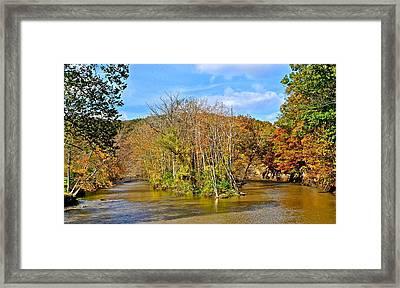 River Island Framed Print