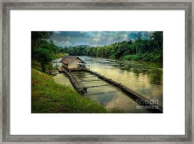 River Kwai Kanchanaburi  Framed Print