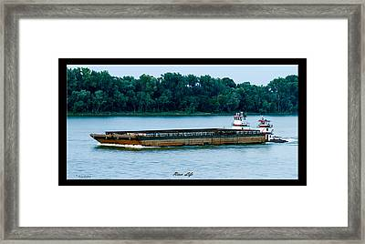 River Life Framed Print