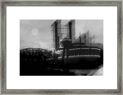 River Life Framed Print