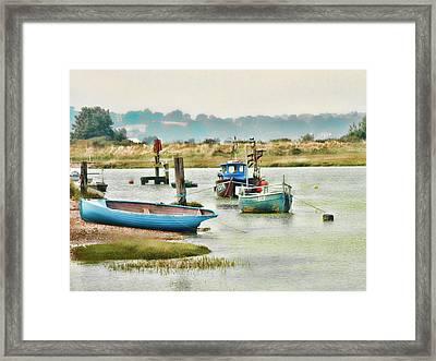 River Life Framed Print by Sharon Lisa Clarke