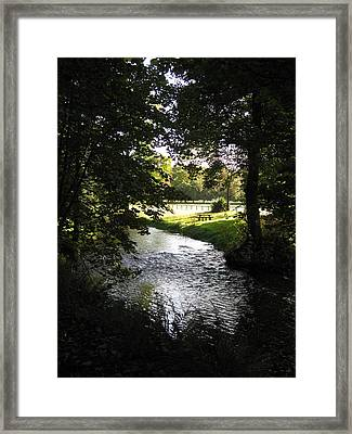 River Martin Framed Print