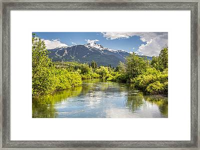 River Of Golden Dreams Framed Print by Pierre Leclerc Photography