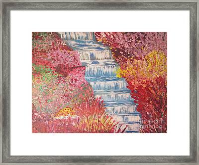 River Of Life  Framed Print