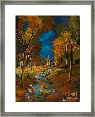 River Of Life Framed Print