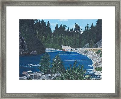 River Of Peace -1 Framed Print