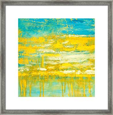 River Of Praise Framed Print by Donna Dixon