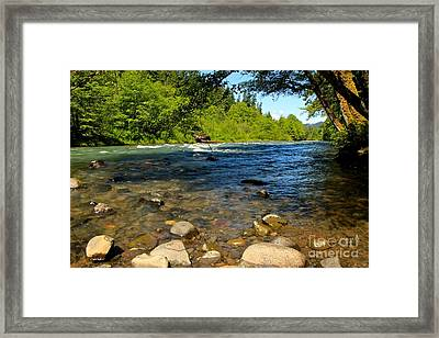 River Of Song  Framed Print by Tim Rice