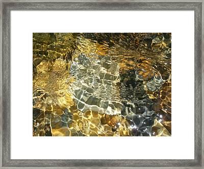 River Of Spirit Framed Print