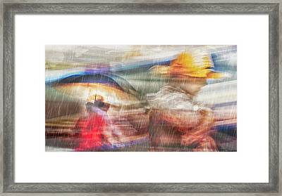 River Of Tears Framed Print
