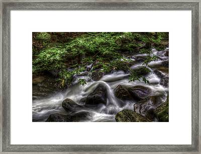 River On The Rocks II Framed Print