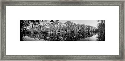 River Pano Framed Print