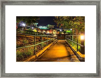 River Park Framed Print