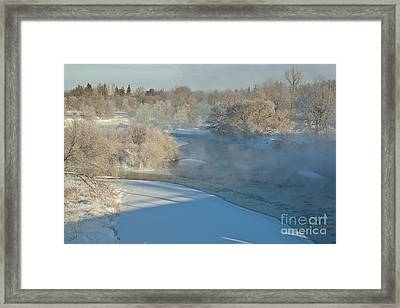Framed Print featuring the photograph River Pastorale I by Jessie Parker