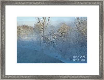 Framed Print featuring the photograph River Pastorale II by Jessie Parker