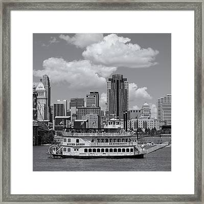 River Queen Framed Print by Diana Boyd
