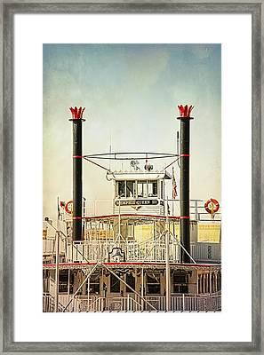 River Queen Framed Print by Suzanne Barber