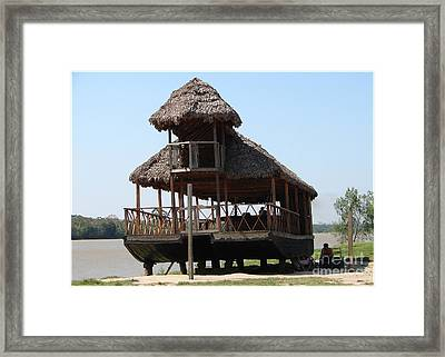 River Ready Framed Print