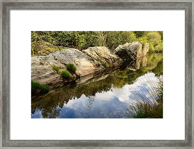 River Reflections IIi Framed Print
