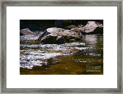River Reflections Framed Print by JW Hanley
