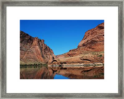 River Reflections Framed Print by Robert  Moss
