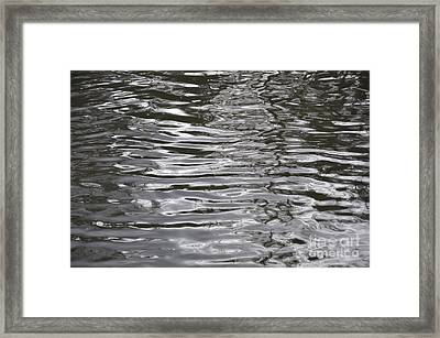 River Ripples Framed Print