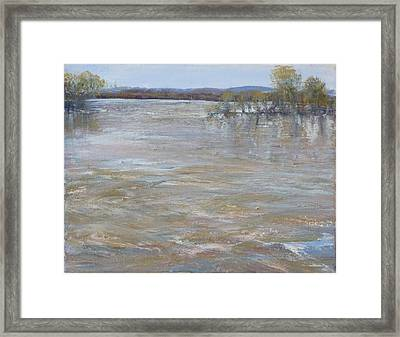 River Rising Framed Print by Helen Campbell